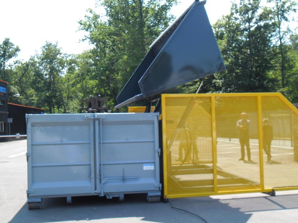 HULK 1 Système de chargement depuis le sol